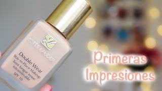 getlinkyoutube.com-Primeras Impresiones - Estée Lauder Double Wear