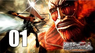 getlinkyoutube.com-Attack on Titan - Gameplay Walkthrough Part 1: The 104th Cadet Corps