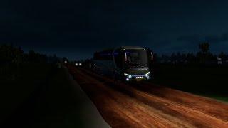 Ets 2 : bus malam sumatra jambi - palembang l map sumatra Indonesia 2.4 S.I