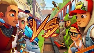 getlinkyoutube.com-Blades of Brim VS. Subway Surfers