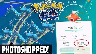 getlinkyoutube.com-Pokemon GO | HIGHEST CP 223 MAGIKARP EVOLUTION TO GYRADOS! 1300 Magikarp Candies! 4 Magikarp Evolve