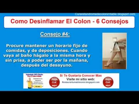 Como Desinflamar El Colon | Sintomas Intestino Irritable