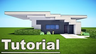 getlinkyoutube.com-Minecraft: Small Easy Modern House Tutorial #7 for pc xbox mc pe ps3 / How to Build