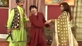 getlinkyoutube.com-Iftikhar Thakur, Sajan Abbas and Megha Best Stage Drama Comedy