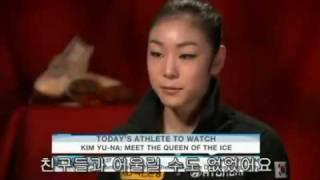 getlinkyoutube.com-NBC Today - Kim Yu-Na : Meet the queen of the ice ( 2010 Olympic Champion )