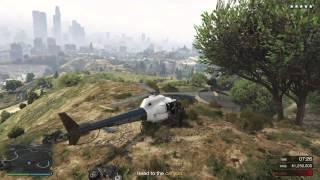 getlinkyoutube.com-GTA V: Chopper Getaway!!! Pacific Standard Bank Job Heist!!!