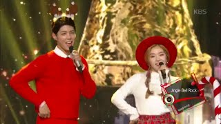 getlinkyoutube.com-[kbs world] 뮤직뱅크 - 박보검 · 아이린, Jingle Bell Rock.20151225