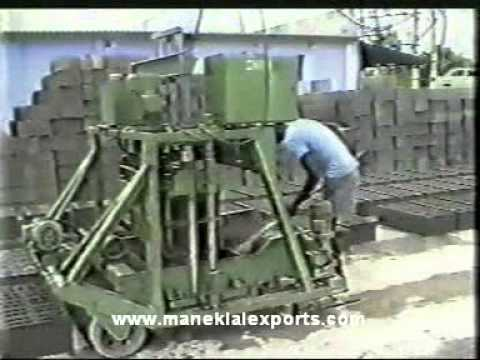 Manek - Concrete Block Making Machine - Egg Laying Type - CBM-60/EL