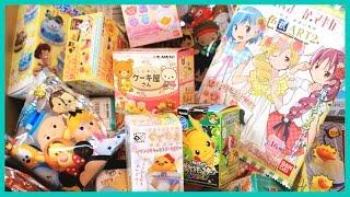 getlinkyoutube.com-[Magical Blind Box #2] Gudetama, Madoka Magica, Pokemon, and Tsum Tsum!