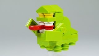 getlinkyoutube.com-How To Build LEGO Ghostbusters Slimer
