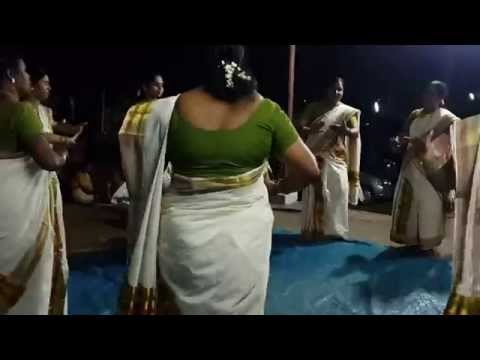 Thiruvathira Kali by women of kerala