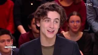 (English Subtitles)Timothée Chalamet SPEAKING FRENCH!! - Quotidien 1/18/2019