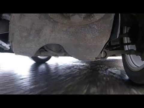 Volvo S60. работа подвески и мотора в динамике