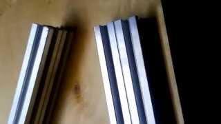 getlinkyoutube.com-ЧПУ станок своими руками Конструкционный профиль Оснастка