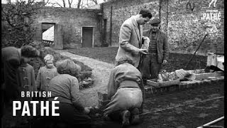 Ex-King Michael Of Rumania Becomes Market Gardener (1953)