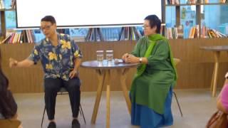 NB Huy Thịnh kể chuyện vui trong talkshow với Nhà báo Đỗ Hương
