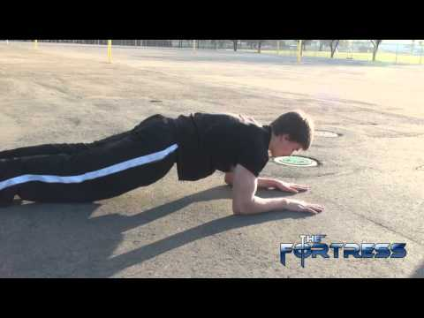 Tiger Bend Floor Push Ups Challenge