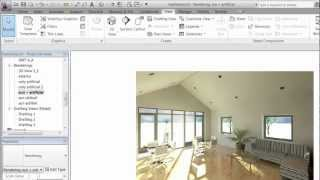 Revit 2012 - Rendering - Part 3 - Interior LIghting (created by Dovile Puraite).mp4