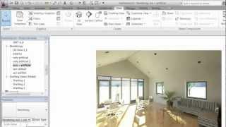 getlinkyoutube.com-Revit 2012 - Rendering - Part 3 - Interior LIghting (created by Dovile Puraite).mp4