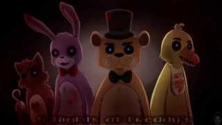 getlinkyoutube.com-Five Nights At Freddy's (fall out boy~Centuries)