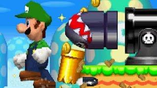 getlinkyoutube.com-New Super Luigi Bros DS - All Secret Exit Locations