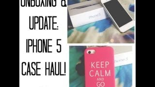 getlinkyoutube.com-Unboxing & Update: Iphone 5 case Haul!♡