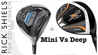 getlinkyoutube.com-TaylorMade Mini Driver Vs Callaway X2 Hot Deep