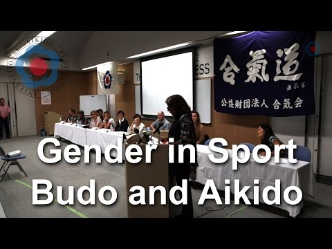 IAF Forum: Gender in Sport, Budo and Aikido - 12th IAF Congress in Takasaki