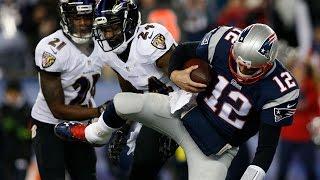 getlinkyoutube.com-Ravens vs. Patriots Divisional Round highlights | NFL