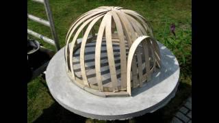 getlinkyoutube.com-building a wooden fired pizza oven, light construction. Lav din egen brændefyret pizzaovn DIY