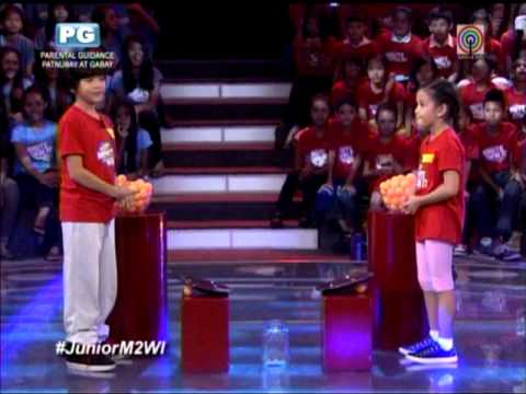 Zaijian, Xyriel play 'ultimate challenge' on 'Junior Minute To Win It'