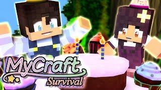 getlinkyoutube.com-Baby Birthday Party | MyCraft Family Minecraft Survival [Ep.5]