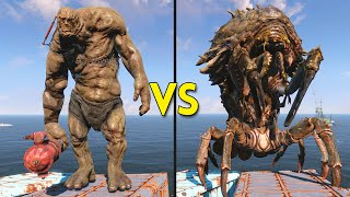 Fallout 4 - 50 Behemoths VS 75 Mirelurk Queens - Battles #2