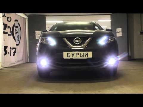 Nissan Qashqai 2014 OSRAM LED FOG101
