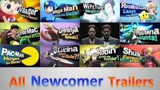 getlinkyoutube.com-All Main Trailers - Super Smash Bros. for 3DS/Wii U (HD)