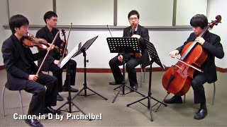 getlinkyoutube.com-Canon in D by Pachelbel (Vetta Quartet from Singapore)