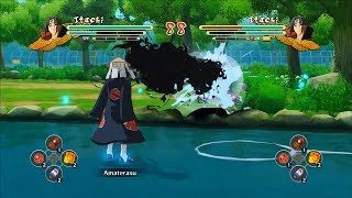 getlinkyoutube.com-Naruto Ultimate Ninja Storm 3 Full Burst Itachi Moveset Mod Gameplay (PC)