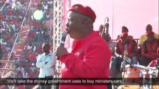 getlinkyoutube.com-Malema's gift of the gab