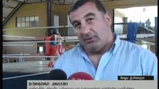 getlinkyoutube.com-2.- Enthusiasts of boxing George Kandelaki and its trainer Avtandil Shoshiashvili !