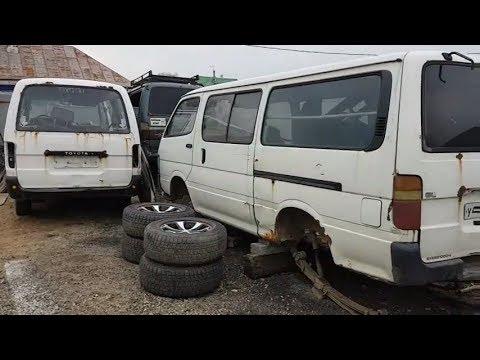 Лютый Hiace 3L дизель, ремонт, часть 4