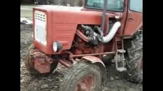 getlinkyoutube.com-T-25 turbós traktorral fahasogatás