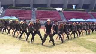 getlinkyoutube.com-Korean Cheerleaders!! 서울종합예술학교 의 쩌는 댄스!!!!