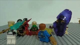 getlinkyoutube.com-Lego Ninjago Rebooted Episode 7 Slithering To Gold!