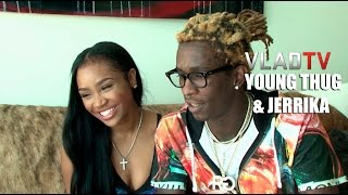 getlinkyoutube.com-Young Thug and Jerrika Reveal How They Met and Engagement Story