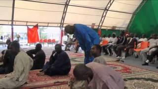 Preghiera comunità senegalese a Caserta 21-9-2011