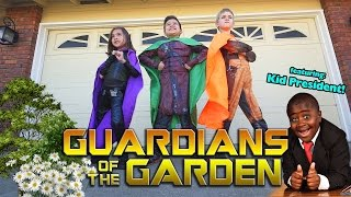 getlinkyoutube.com-GUARDIANS OF THE GARDEN! Surprise Box from KID PRESIDENT! Guide to Being Awesome!!!