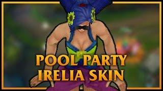 自製造型 - 泳池派對伊瑞莉雅