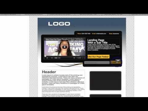 How to Create an Awesome Facebook Landing Page! (Part 1)
