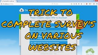 getlinkyoutube.com-How to complete Fileice, Sharecash, Cleanfiles,etc Survey Successfully [May 2016]