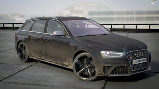 getlinkyoutube.com-Audi RS4 UE4 Car Configurator